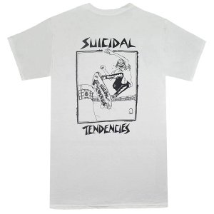 SUICIDAL TENDENCIES Skater Tシャツ WHITE|tradmode
