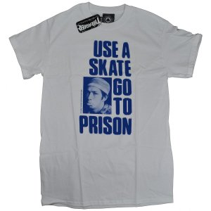 THRASHER スラッシャー Use A Skate Go To Prison Tシャツ USA企画|tradmode