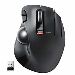 エレコム マウス ワイヤレス (レシーバー付属) トラックボール 6ボタン ブラック M-XT3DR...