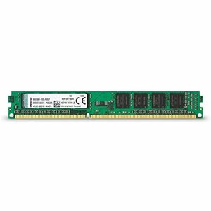 キングストン Kingston デスクトップPC メモリ DDR3 1600 (PC3-12800) 4GB CL11 Non-ECC DIMM (240pin) KVR16N11S8/4|trafstore