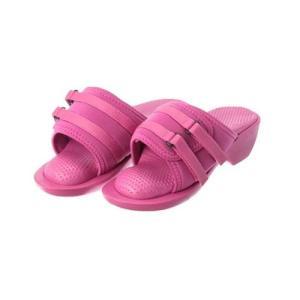 3Dソールサンダル リフットハイヒール(ピンク)...