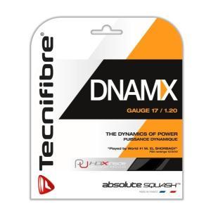 テクニファイバー(Tecnifibre) スカッシュ用ストリング、ゲージ1.20mm DNAMX 1.20 TF DN 120 ブラック 1.20