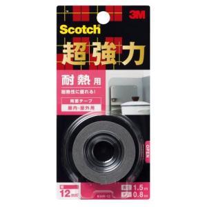 3M スコッチ 超強力両面テープ 耐熱用 12mm×1.5m KHR-12|trafstore