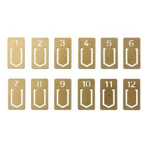 【商品コード:16007002087】懐かしいナンバープレートのような真鍮製のクリップです。しおりや...