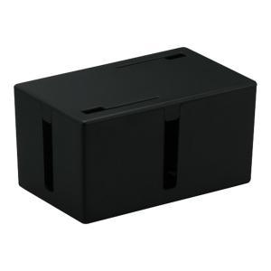 BUFFALO ケーブルボックス 電源タップ&ケーブル収容 Sサイズ ブラック BSTB01...