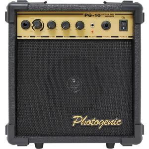 PhotoGenic フォトジェニック ギターベース兼用アンプ オーバードライブ機能付き PG10|trafstore