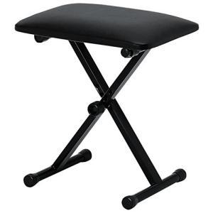 【商品コード:16009611788】高さの調節が可能なキーボード用ベンチ 座部:420mm x 3...