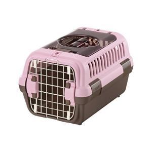 リッチェル キャンピングキャリーダブルドア Sサイズ 超小型犬・猫用 ライトピンク trafstore