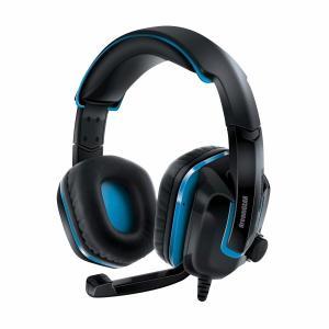 dreamGEAR GRX-440 PS4用 ゲームヘッドセット ブラック/ブルー|trafstore