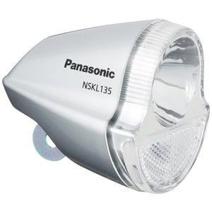 LEDハブダイナモ専用ライト (NSKL135-S) 足も灯 グレー NSKL135-S