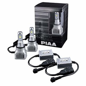 PIAA (ピア) LEDフォグライトバルブ 2400lm 6000K H8/H11/H16 ホワイト 12V16W LEF102|trafstore