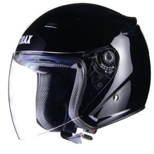 リード工業(LEAD) バイクヘルメット ジェット STRAX ブラック LL SJ-8 -
