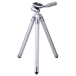 【商品コード:16015940507】コンパクトカメラや小型ムービーに便利な携帯しやすい三脚 収縮時...