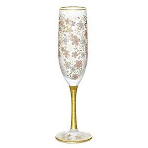 アデリア シャンパングラス 180ml エル・ドラード 桜 フルートグラス 日本製 6529