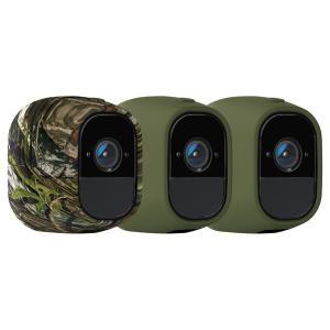 【商品コード:16015968615】Arlo Proカメラ専用のシリコンスキン。 3個セット (カ...