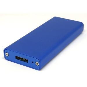 GROOVY M.2 SSD 用 ( NGFF B-key 端子 ) USB3.0 接続 アルミケー...