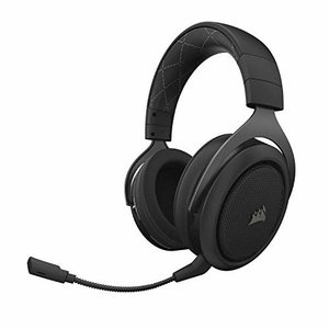 Corsair HS70 WIRELESS -Carbon- ゲーミングヘッドセット SP815 C...