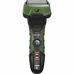 マクセルイズミ (IZUMI) 電気 シェーバー 4枚刃 往復式 グルーミングシリーズ グリーン I...