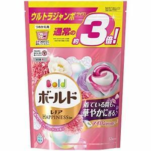 ボールド 洗濯洗剤 ジェルボール3D 癒しのプレミアムブロッサムの香り 詰め替え ウルトラジャンボサイズ 52個|trafstore