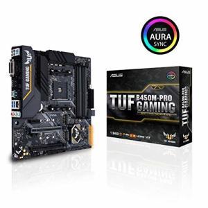 ASUS AMD B450 搭載 AM4 対応 マザーボード TUF B450M-PRO GAMIN...