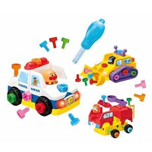 【商品コード:16016519733】ドライバーとネジを使って3種類のはたらくのりものが組み立てられ...