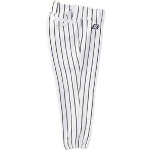 ZETT(ゼット) 少年野球 ユニフォーム パンツ (ストライプ) BU612J ホワイト/ネイビー 150cm