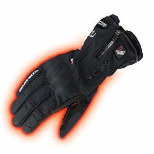 コミネ KOMINE バイク アドバンスドプロテクトエレクトリックグローブ 手袋 電熱 発熱 防寒 Black/S 08-205 EK-205|trafstore