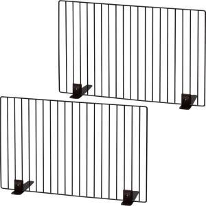 アイリスオーヤマ ペットフェンス ブラウン 60×40cm (まとめ買い) trafstore