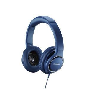 パナソニック 密閉型ヘッドホン ハイレゾ音源対応 ブルー RP-HD5-A