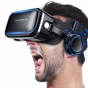 Betidom VRゴーグル VRヘッドセット 3D ゲーム 映画 動画 VR グラス メガネ 4.0〜6.2インチ iPhone Android スマホ用 VRヘ trafstore