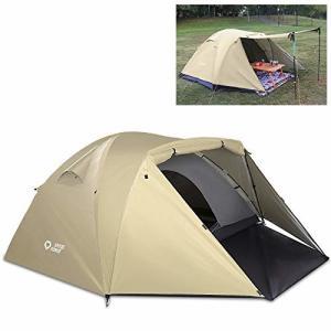 Spitze Forge テント 2-3人 二重層 ドームテント 防風防水 耐水圧3000mm キャンプテント フィールドキャンプドーム|trafstore