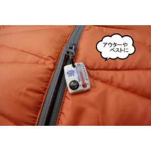 サンカンパニー ZipperSnapper2 コンパス&サーモメーター 方位磁石 温度計 キーホルダー 防災 ジッパースナッパー2 Sun Company|tramsusa|03