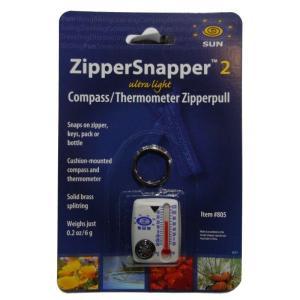 サンカンパニー ZipperSnapper2 コンパス&サーモメーター 方位磁石 温度計 キーホルダー 防災 ジッパースナッパー2 Sun Company|tramsusa|05