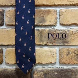 Polo Ralph Lauren ポニー刺繍ネクタイ ポロラルフローレン プレゼント|tramsusa