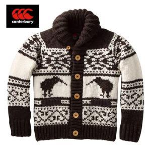 CANTERBURY カウチン セーター(メンズ) Cowichan sweater RA44650 カンタベリー|tramsusa