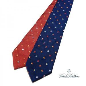 BrooksBrothers フラッグ刺繍ネクタイ ブルックスブラザーズ プレゼント|tramsusa