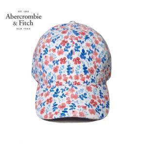 Abercrombie&Fitch フラワーチノキャップ アバクロンビー&フィッチ 帽子 tramsusa