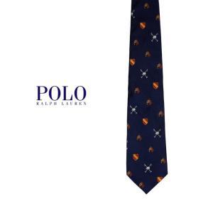 Polo Ralph Lauren ホース総柄ネクタイ ポロラルフローレン ジョッキー 馬 プレゼント|tramsusa