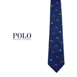 Polo Ralph Lauren ホース総柄タイ ポロラルフローレン ジョッキー 馬 プレゼント|tramsusa