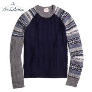Brooks Brothers Fun Crewneck Sweater ブルックスブラザーズ ウールセーター|tramsusa