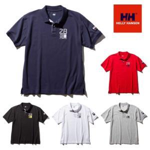 【送料200円選択可】HELLY HANSEN S/S Flag Polo HH31730 ショートスリーブ フラッグポロ (メンズ) ヘリーハンセン 半袖ポロシャツ|tramsusa