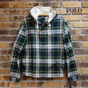 Polo Ralph Lauren マドラスチェックフーディブルゾン ポロラルフローレン マウンテンパーカ スイングトップ|tramsusa