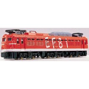 Nゲージダイキャストスケールモデル No.66 EF-81電気機関車|trane-shop