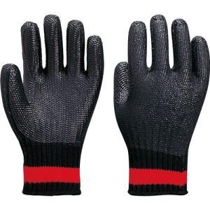 作業用手袋 122-GX ゴム張りクロベエ(10双入)ゴム張り手袋/アトム|trans-style