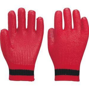 作業用手袋 122-GR ゴム張りアカベエ(10双入)ゴム張り手袋/アトム|trans-style
