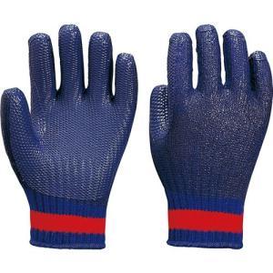 作業用手袋 122-GB ゴム張りアオベエ(10双入)ゴム張り手袋/アトム|trans-style