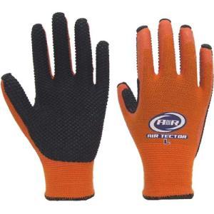 作業用手袋 158 エアテクターX(10双入)背抜き手袋/アトム|trans-style