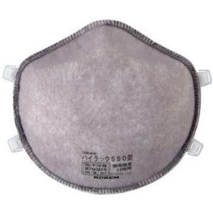 興研 使い捨て式防塵マスク ハイラック550型-DS1 2本ひも式(10枚入)粉塵/医療用|trans-style