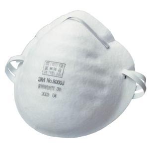 3M/スリーエム 使い捨て式防塵マスク 8000J-DS1(50枚入)粉塵/医療用/花粉対策|trans-style