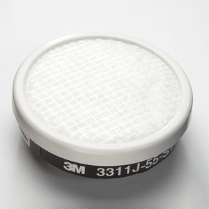 3M/スリーエム 有機ガス用吸収缶フィルター付 3311J-55-S1(3000用)(1個)ガスマス...